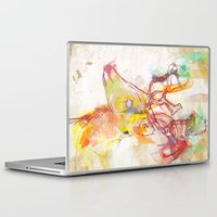 archan nair Laptop & iPad Skins featuring Maritza by Archan Nair
