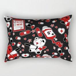 Chronic Illness Creepy Cute Bears Rectangular Pillow