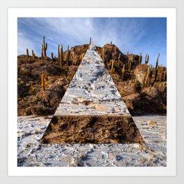Bolivian Salt Flat Art Print