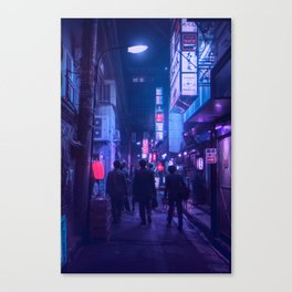 Tokyo Nights / One Minute To Midnight / Liam Wong Canvas Print