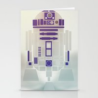 starwars Stationery Cards featuring StarWars R2D2 by Joshua A. Biron