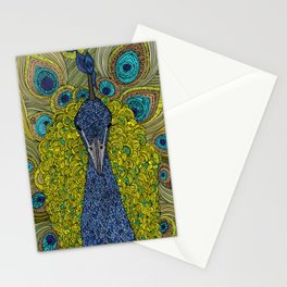 Mr. Pavo Real Stationery Cards