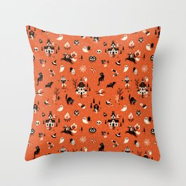 Lil Spookies Throw Pillow