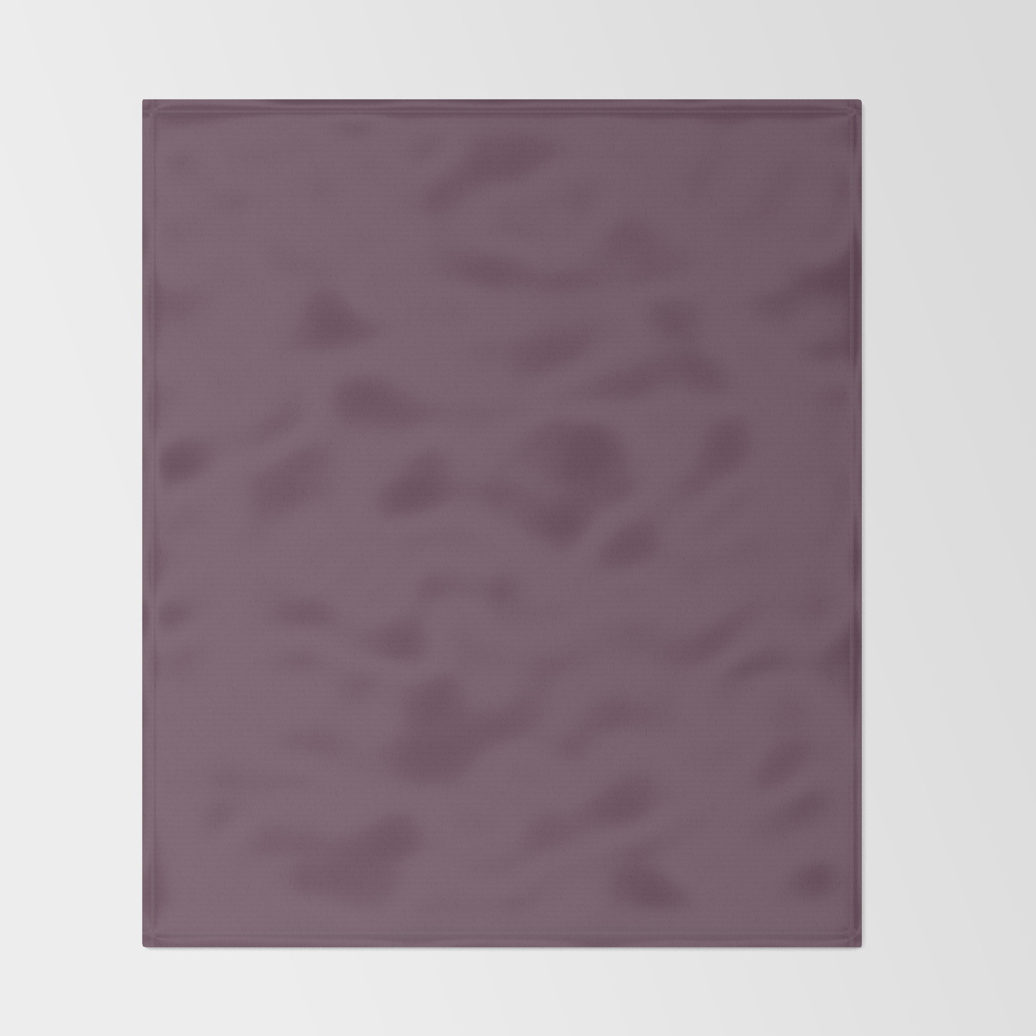 Eggplant Colored Throw Blanket Home Ideas