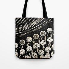 Underwood  typewriter Tote Bag