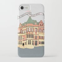 archer iPhone & iPod Cases featuring Archer Avenue by Nan Lawson