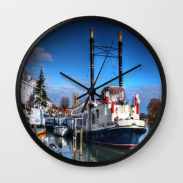 The New Orleans  Wall Clock
