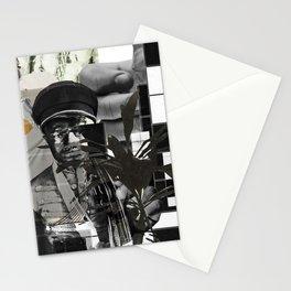 glass project warhol, the lobo war IX Stationery Cards