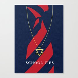 School Ties Canvas Print