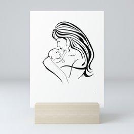 Mother's Love Mini Art Print