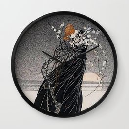 """Kay Nielsen Illustration from """"A Mother's Story"""" Wall Clock"""