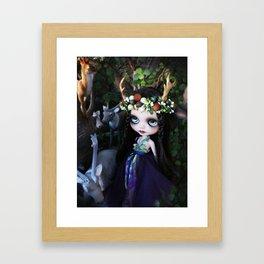 ISOBEL FAWN (Ooak BLYTHE Doll) Framed Art Print