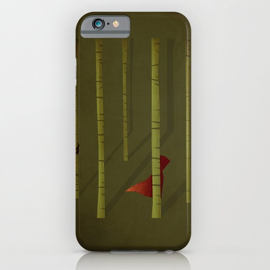 Little Red Ridding Hood iPhone & iPod Case