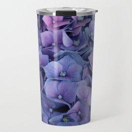 Purple Hydrangea Travel Mug