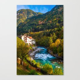 Fortezza, Italy Canvas Print