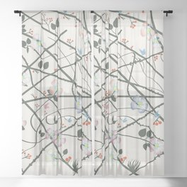 For Summer Sheer Curtain