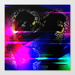 Mysterious Sisters Canvas Print