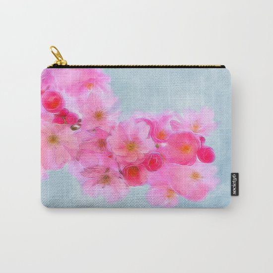 Cherry Blossom (in memory of Mackenzie) Carry-All Pouch