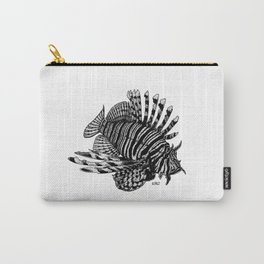 Red Lionfish - Beauty Is The Beast Carry-All Pouch