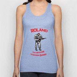 Roland The Headless Thompson Gunner Unisex Tank Top