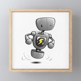 Pitt Roboto Framed Mini Art Print