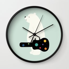 Chase Your Dreams Wall Clock