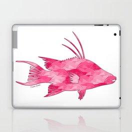 Pink Camouflage Hogfish Laptop & iPad Skin