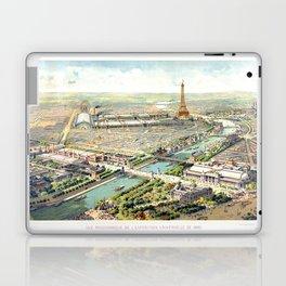 Paris World Fair 1900 Laptop & iPad Skin