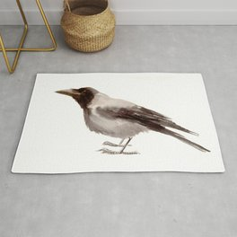 Hooded Crow Rug