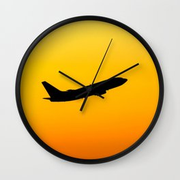 Easy Jet Boeing 737 Wall Clock
