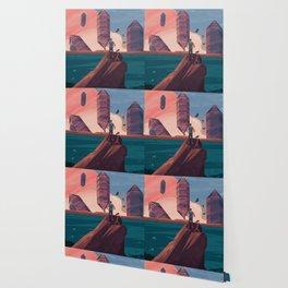 Oniric landscape Wallpaper