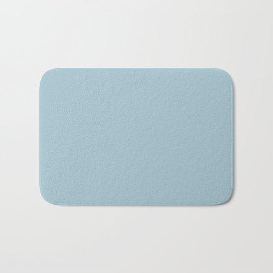 Tropical Waters Blue Bath Mat