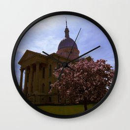 Macoupin County Courthouse Wall Clock