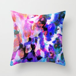 Lets Paint   Throw Pillow