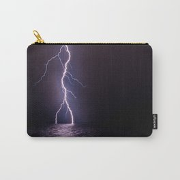Lightning at Sea Carry-All Pouch