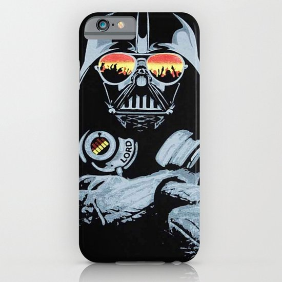 DJ Darth Vader iPhone & iPod Case