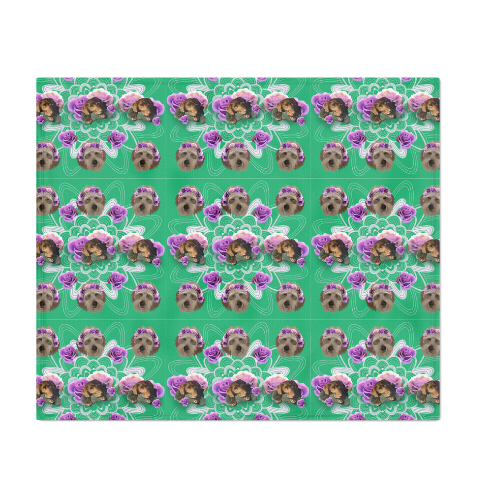 Doggo_Garden_Throw_Blanket_by_doombucket