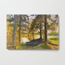 Finnish landscape #1 Metal Print