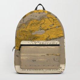 Vintage Map of Florida Backpack