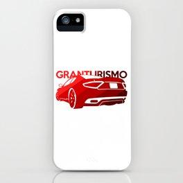 Maserati GranTurismo S - classic red - iPhone Case