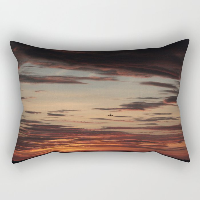 Contemplation (Mais Gente Comtemplando) Rectangular Pillow