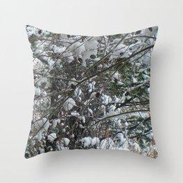 Snow Wishes Throw Pillow