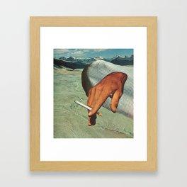 """""""his"""" Framed Art Print"""