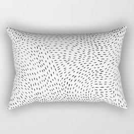 storm | white Rectangular Pillow
