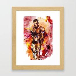 Weekend Warrior Framed Art Print