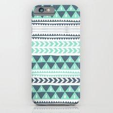 Winter Stripe iPhone 6s Slim Case