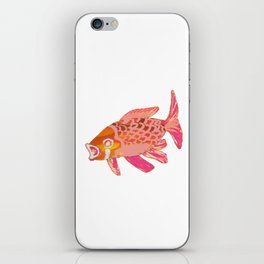 Pink And Gold Koi 3 iPhone Skin