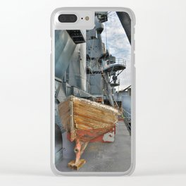 Lifeboat Clear iPhone Case