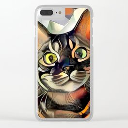 Hooman Spoil Me! Clear iPhone Case