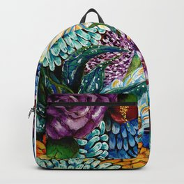 Flowers and Wild Nature Backpack
